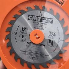 Пила дискова 190х30х24 1,6/2,6 для продольного и поперечного пиления