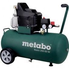Компресор безмасляний Metabo Basic 250-50 W