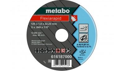 Відрізний круг Metabo Flexiarapid 125x1