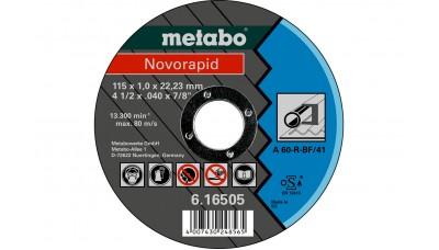 Відрізний круг Metabo Novorapid Basic 115x1