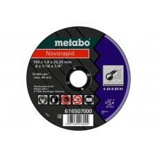 Відрізний круг Metabo Novorapid 150x1