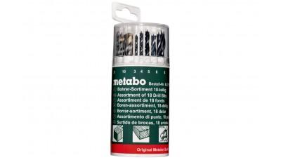 Комплекти свердел Metabo 18 шт.