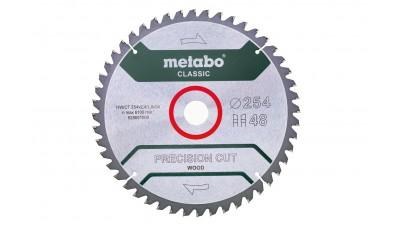 Пиляльний диск Metabo HW/CT 254х30