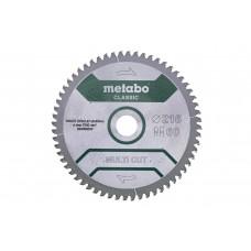 Пиляльний диск Metabo HW/CT 216х30