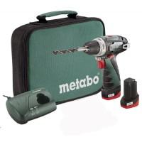 Акумуляторний дриль-шурупокрут METABO PowerMaxx BS Basic, 10.8V
