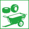 Приладдя для мінітракторів-газонокосарок