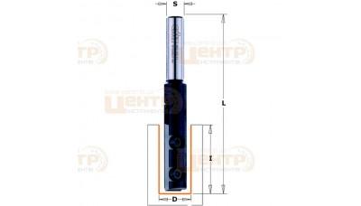 Фреза CMT пазова зі змінними ножами 652.122.11