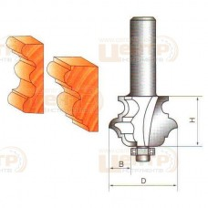 Фреза ГЛОБУС 2040 D57 d12 кромочна фігурна мультипрофільна