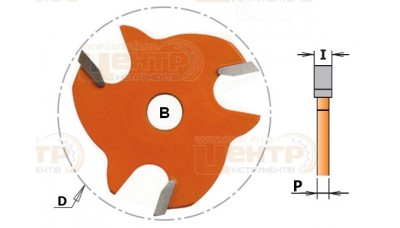 Фреза дискова для тримача СМТ  822.340.11